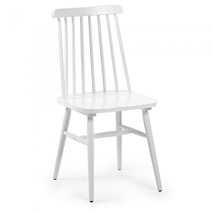 Silla blanca windsor
