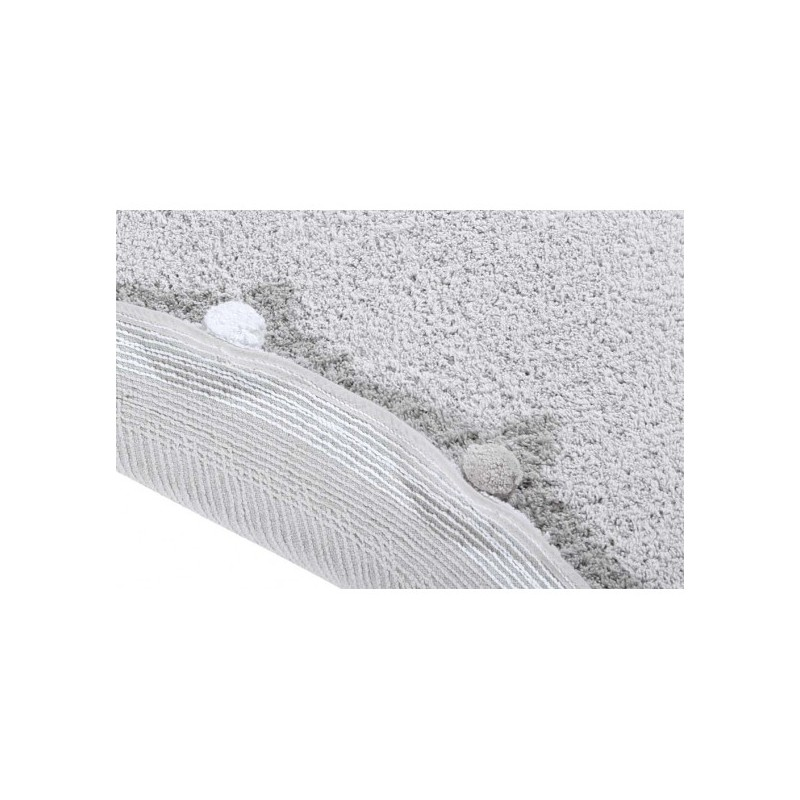 Alfombra Bubbly Gris Claro Lorena Canals White Woodhome