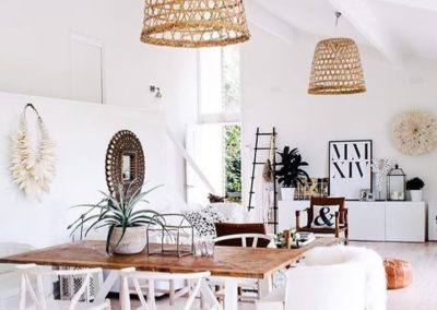 White & Wood Home